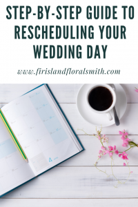 Rescheduling your wedding day