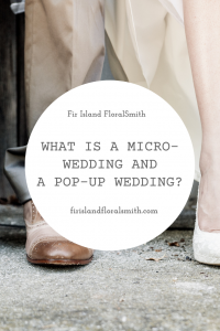 Micro-Wedding Pop-Up Wedding