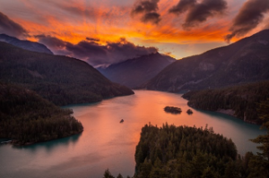 Elope In Northwest Washington diablo lake