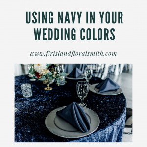Using Navy in Your Wedding Colors