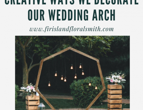 Creative Ways We Decorate Our Wedding Arch