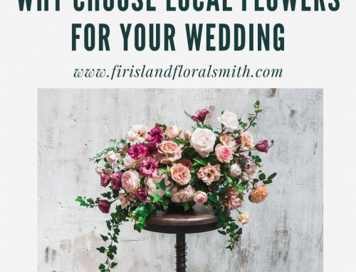 Why Choose Local  Flowers for Your Wedding